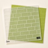 Brick Wall Embossing Folder