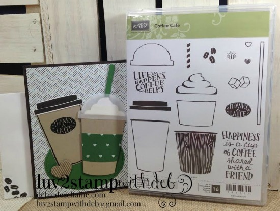coffee2plus stamp set