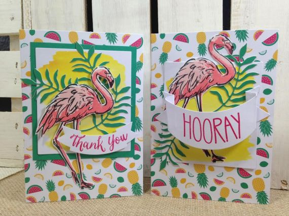 flamingo thank you's
