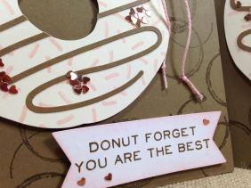Paper Pumpkin donut