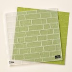 Brick Wall Embossing Folder