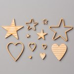 Hearts and Stars Elements