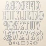 Large Letter Framelits