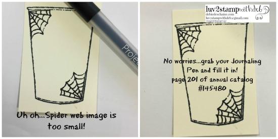 spider web tip TWOCollage