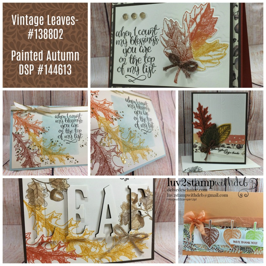 Vintage Leaves Collagetwo